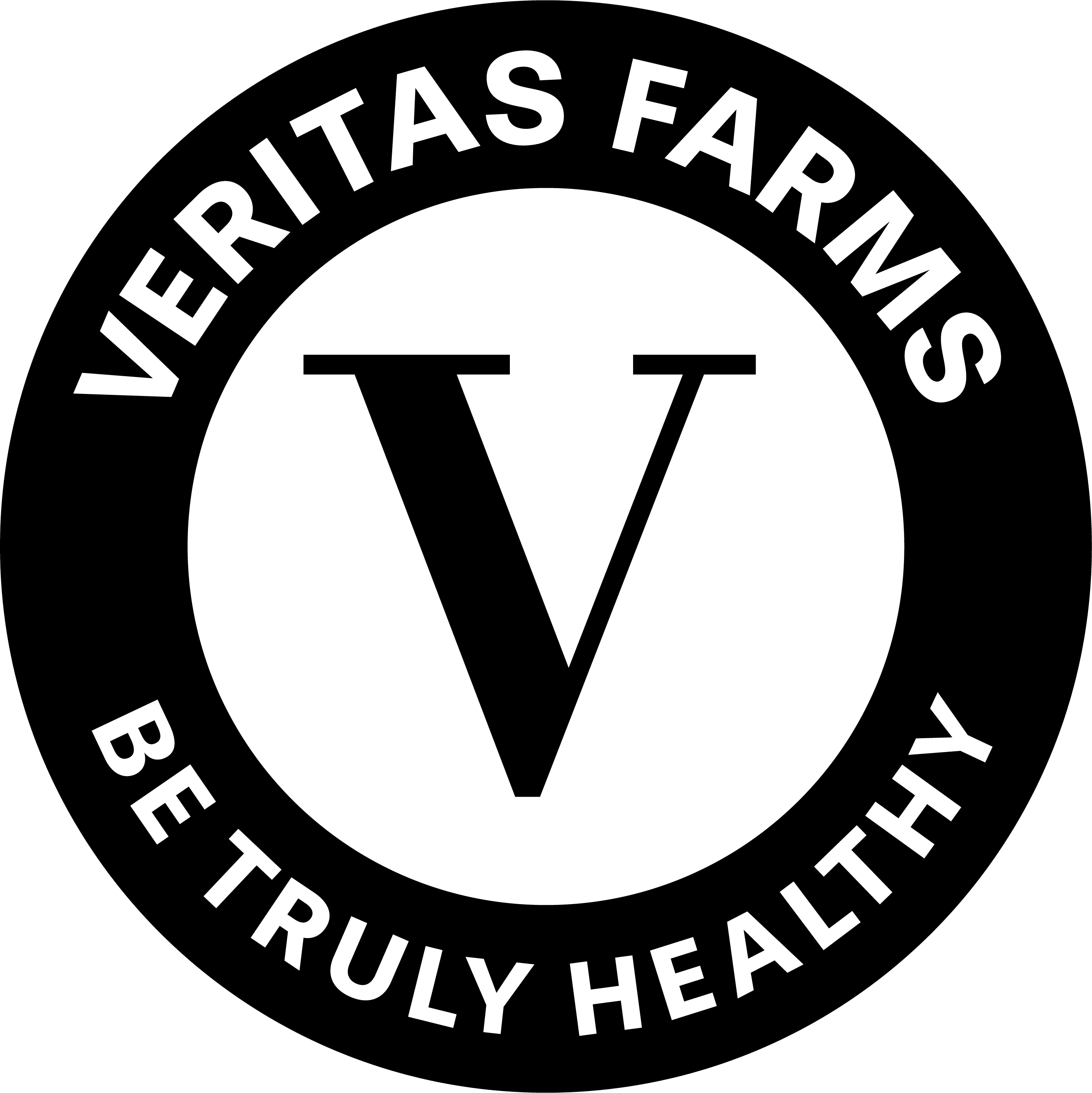 veritas farms logo