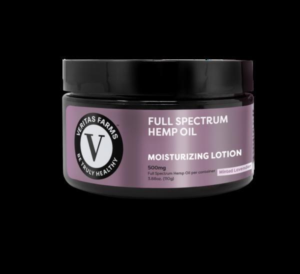 Minted Lavender Full Spectrum Hemp Oil Lotion 500MG