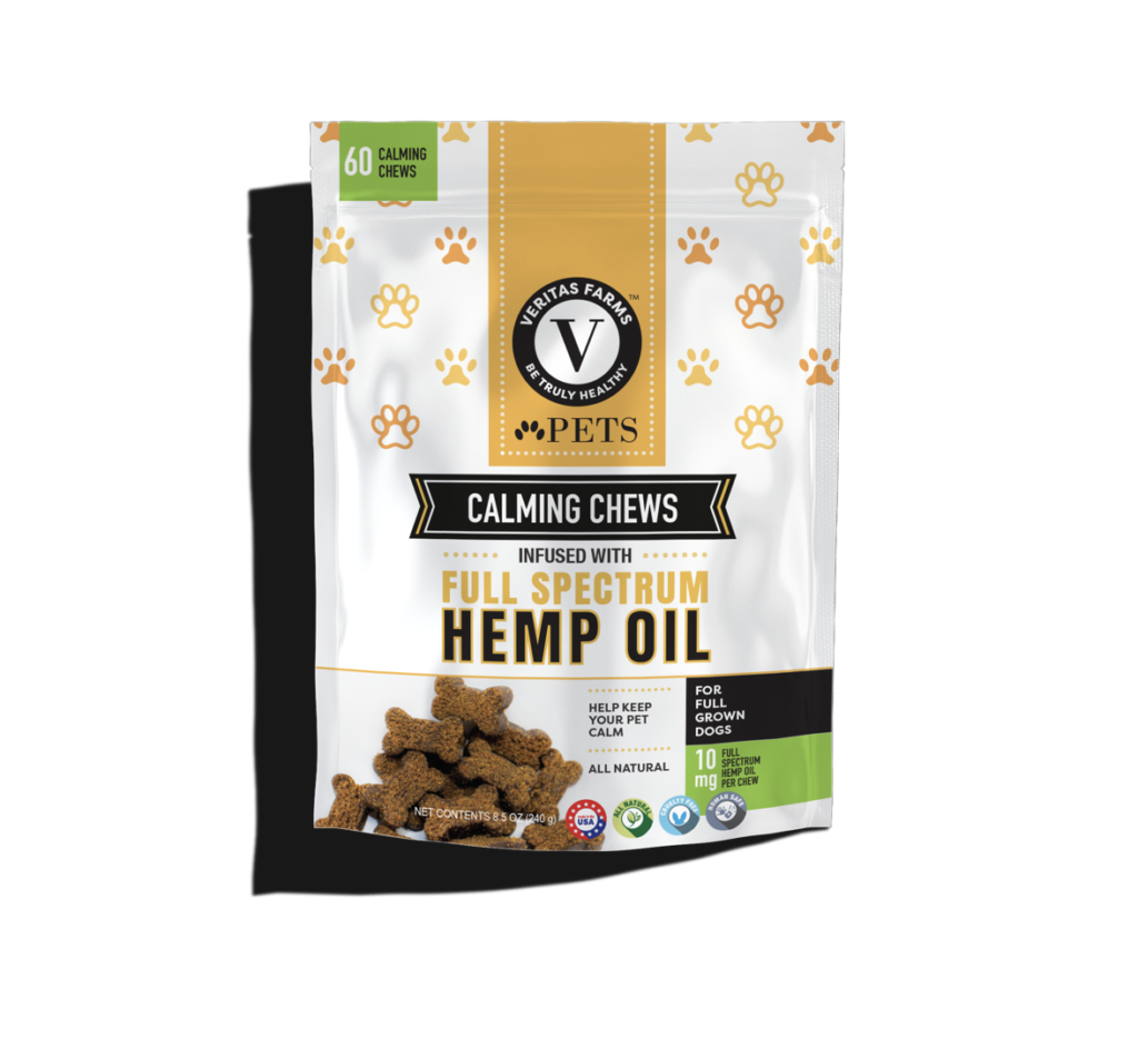 cbd oil for dogs calming chews 60 ct